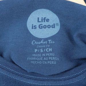 Life Is Good Tops - LIFE IS GOOD Heart Four Seasons Long Sleeve Tee S
